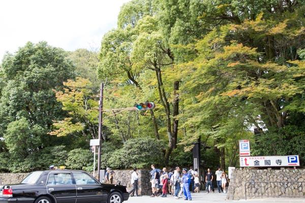 金閣寺正面入口