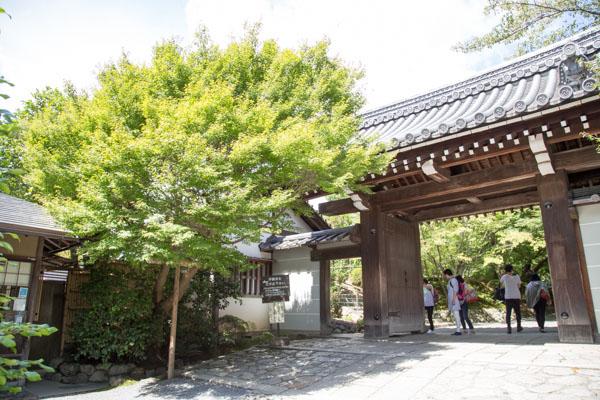 龍安寺 入口