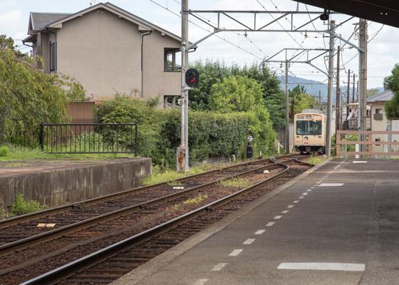 嵐電 夕子列車