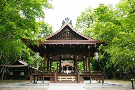 梨木神社、別名『萩の宮』