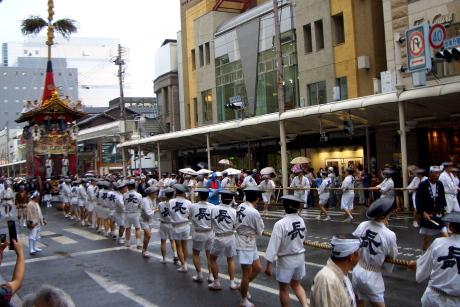 前祭山鉾巡行 2016